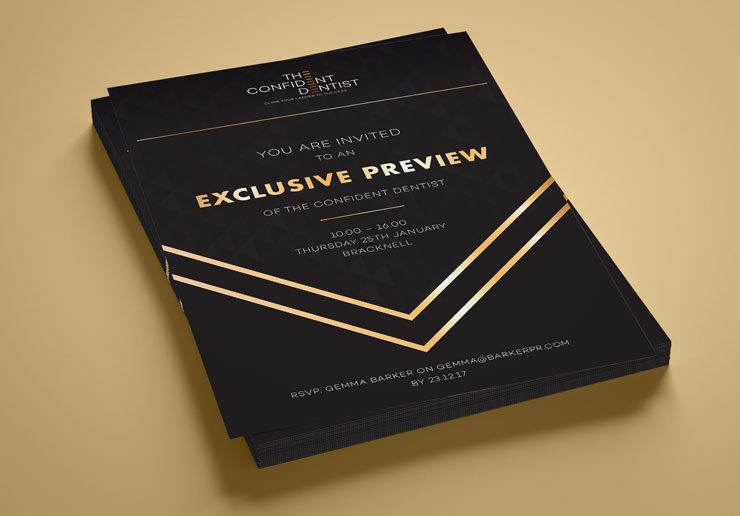 Barker PR Flyer Graphics by TD Creative in Leeds