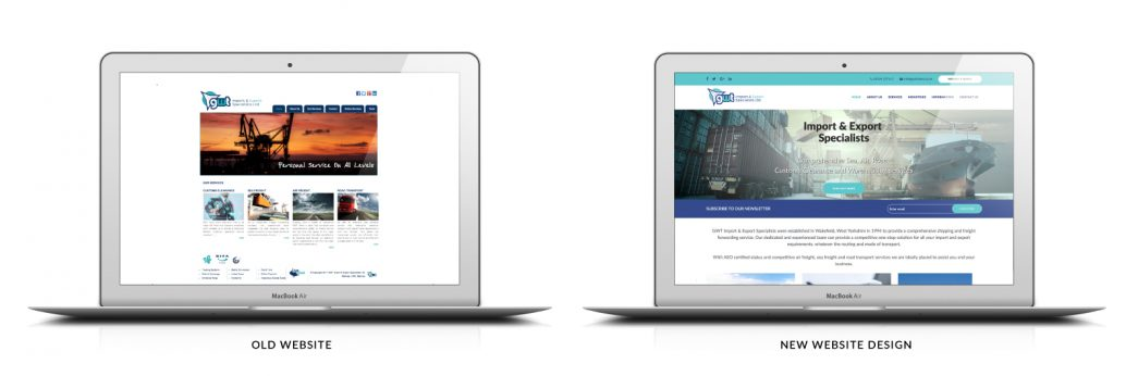 GWT Responsive Website Design Graphics by TD Creative Studio in Leeds