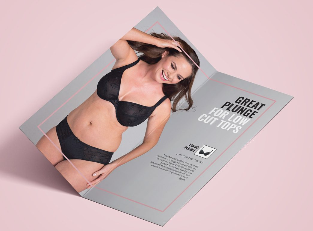 Panache Plunge Bra Brochure by TD Creative in Leeds