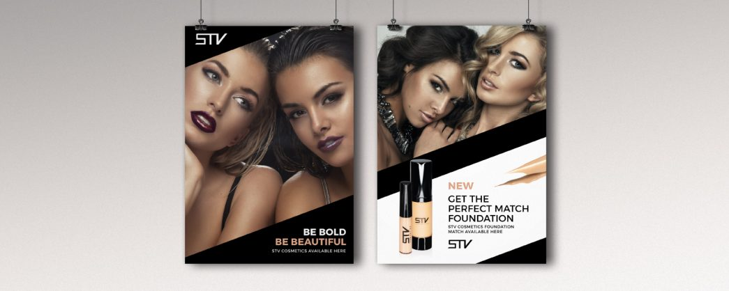 Be Bold STV Foundation Poster by TD Creative in Leeds