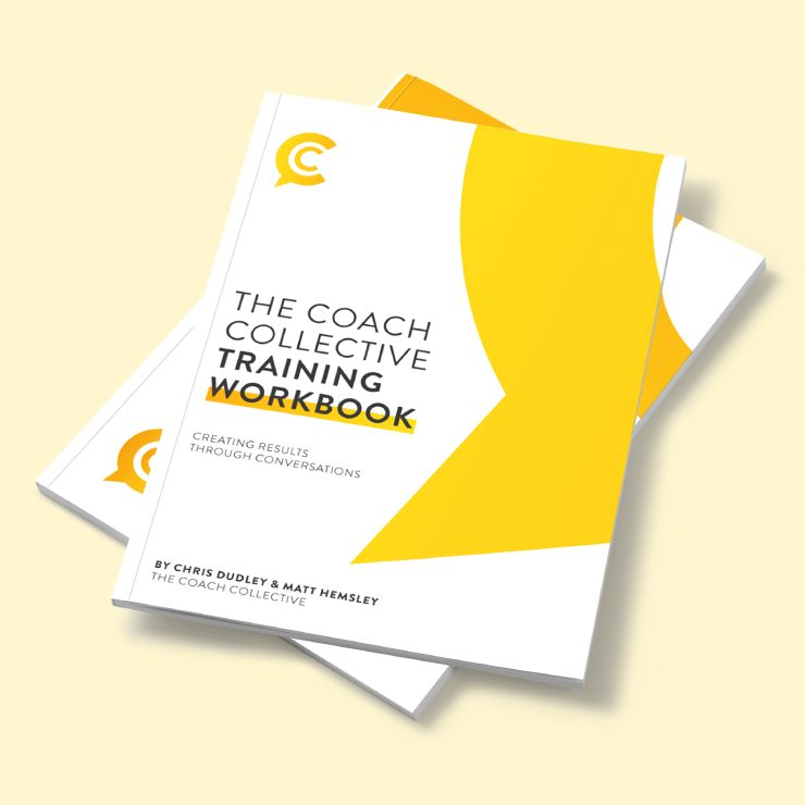 The Coach Collective Training Workbook by TD Creative Studio in Leeds
