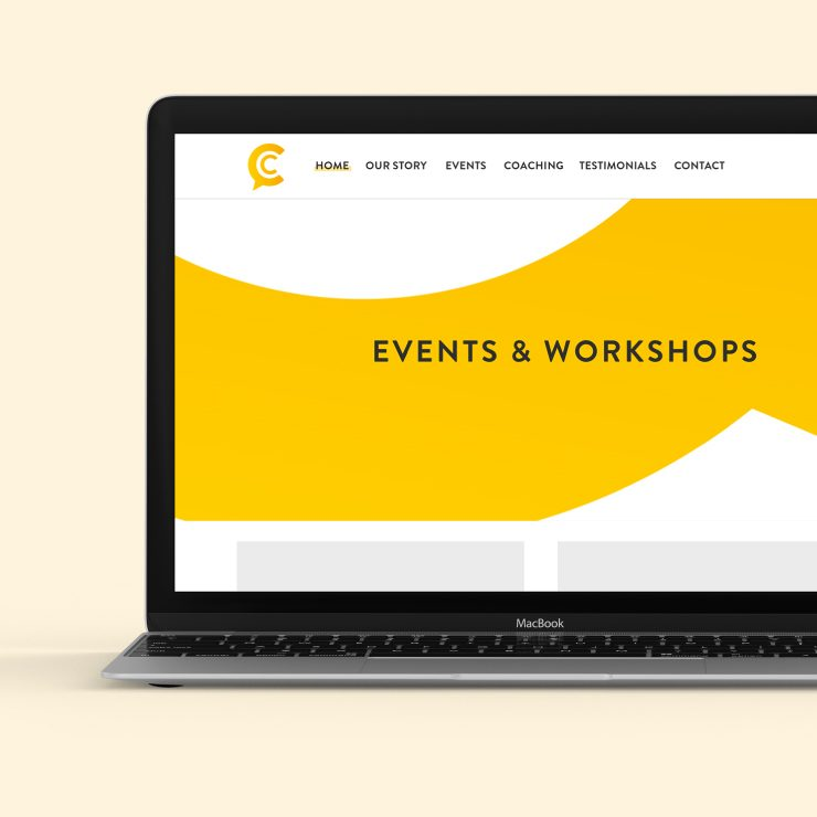 The Coach Collective Responsive Website Graphics by TD Creative Studio in Leeds